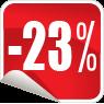 Zľava 23%